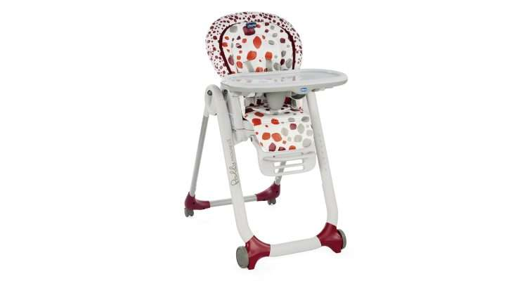 Polly be Progres5Repas Chicco Chaise Haute wvm80NnO